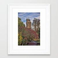 Cardiff Clock Tower. Framed Art Print
