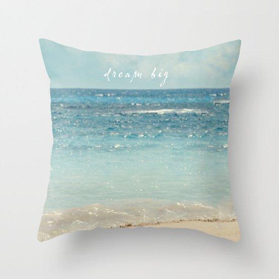 dream big Throw Pillow