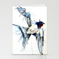 My Swallow Stationery Cards