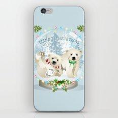 Snow globe bears iPhone & iPod Skin