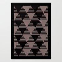 Grey or Gray Art Print