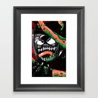 To Catch A Spider Framed Art Print