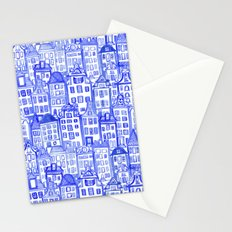 Dutch Row Houses Stationery Cards