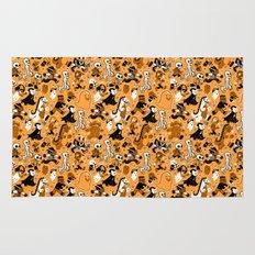 Monster March (Orange) Rug