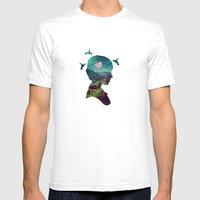 Voyage Mens Fitted Tee White SMALL