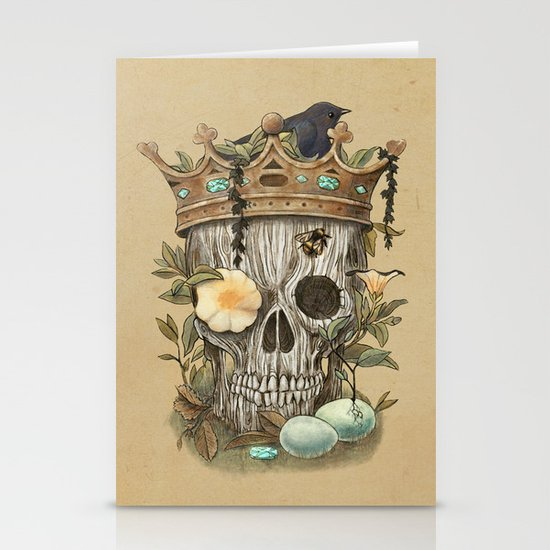 Nature's Reign  Stationery Card