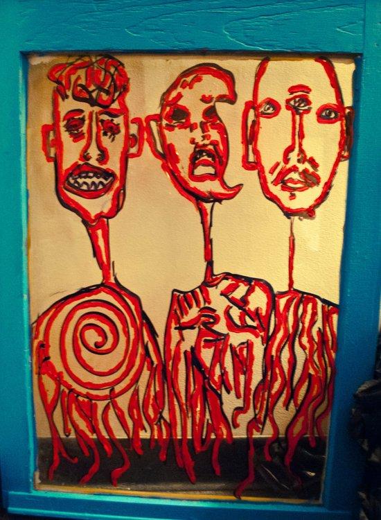 we belong  Art Print