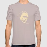 Bukowski#! Mens Fitted Tee Cinder SMALL