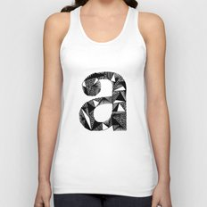 A is for Unisex Tank Top
