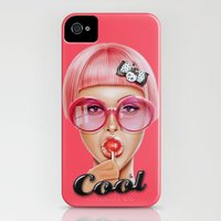 iPhone Cases featuring Cool Redux by Giulio Rossi