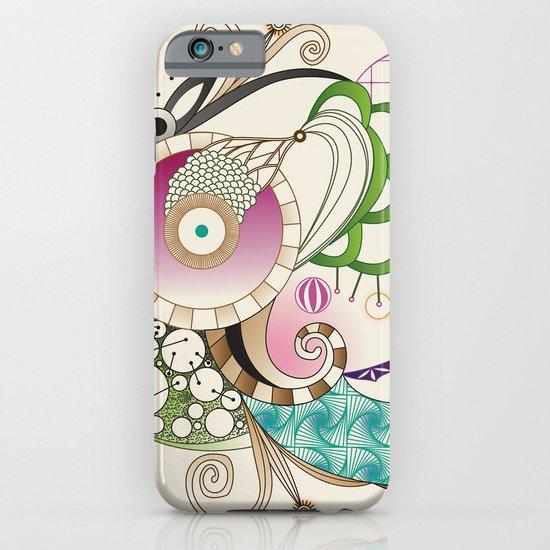 Autumn tangle, sienna - purple color set iPhone & iPod Case