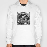 Luddy Mussy/ bull goose looney album cover black and white Hoody