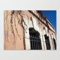 Jaffa Street Ancient Architecture Canvas Print