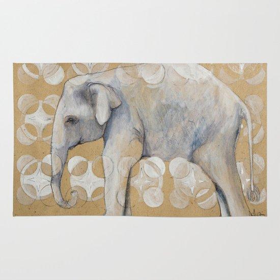 elephant Area & Throw Rug