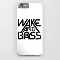 Wake And Bass (Black) iPhone 6 Slim Case