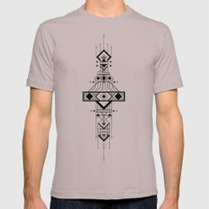Geometric Device Mens Fitted Tee Cinder SMALL