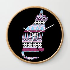 Fun & Fancy Kitty. Wall Clock