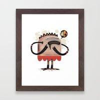 Me? Framed Art Print