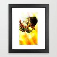 Flip Top Box Framed Art Print