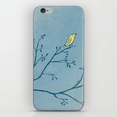 Yellow Bird iPhone & iPod Skin