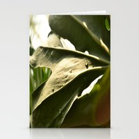 Sun Lit Green Life Stationery Cards