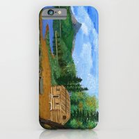 iPhone & iPod Case featuring Old cabin by maggs326