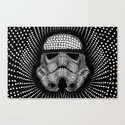 Trooper Star Circle Wars Canvas Print