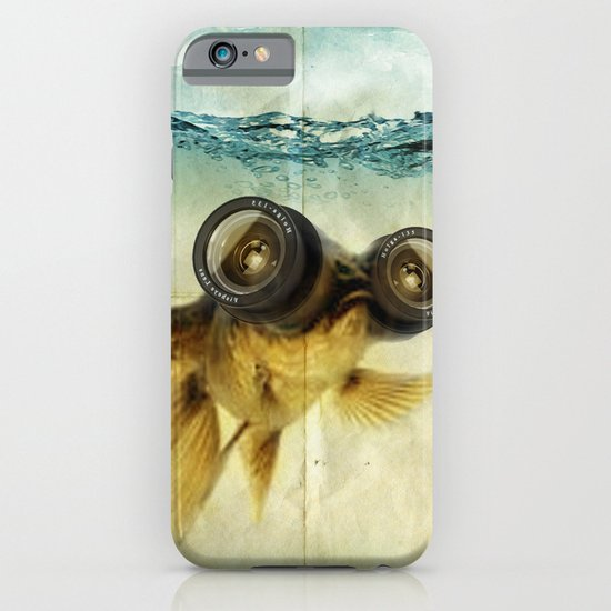 Fish eye lens 02 iPhone & iPod Case