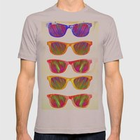 Sunglasses In Paradise Mens Fitted Tee Cinder SMALL