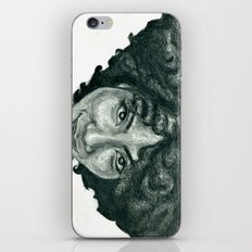 Natural Hair Portrait - … iPhone & iPod Skin