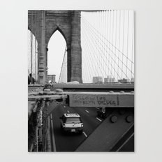 Follow the Bridge Canvas Print