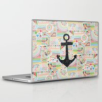 anchor Laptop & iPad Skins featuring Anchor by Berreca