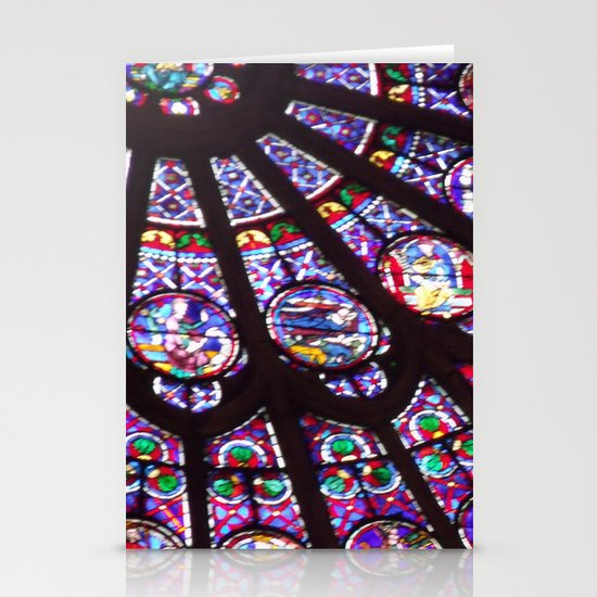 Rose Window (Notre Dame)  Stationery Card