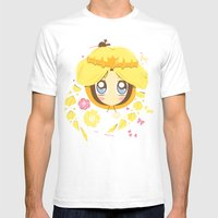 Park Princess Mens Fitted Tee White SMALL