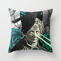 Ancient Spells Throw Pillow