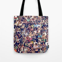 People of Berlin Tote Bag
