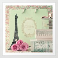 Parisian Sweet Tooth Art Print