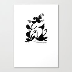 Pet Logo Canvas Print