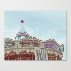 Pier 39 Carousel Canvas Print