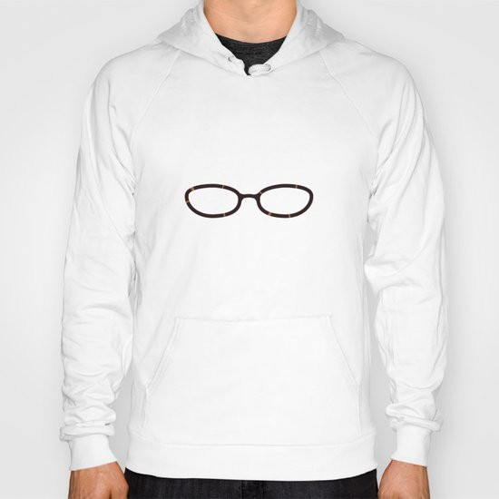 Liz Lemon Glasses Hoody