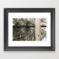 USS Cairo 18 Framed Art Print