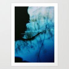 waiting in silence Art Print