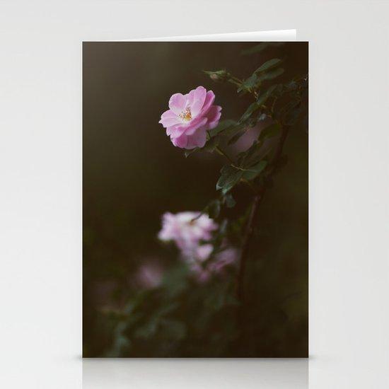 Rose #1 Stationery Card
