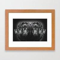 Panther Power Framed Art Print