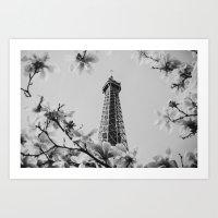 Eiffel Tower II Art Print