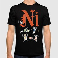 Ni! Mens Fitted Tee Black SMALL