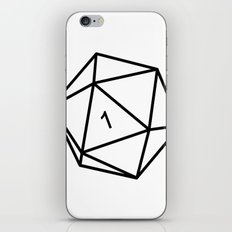 Fumble - Dungeons & Dragons for Dummies iPhone & iPod Skin