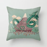 The Not-So-Lonely Mounta… Throw Pillow