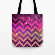 Tote Bag featuring  CHEVROn by Monika Strigel