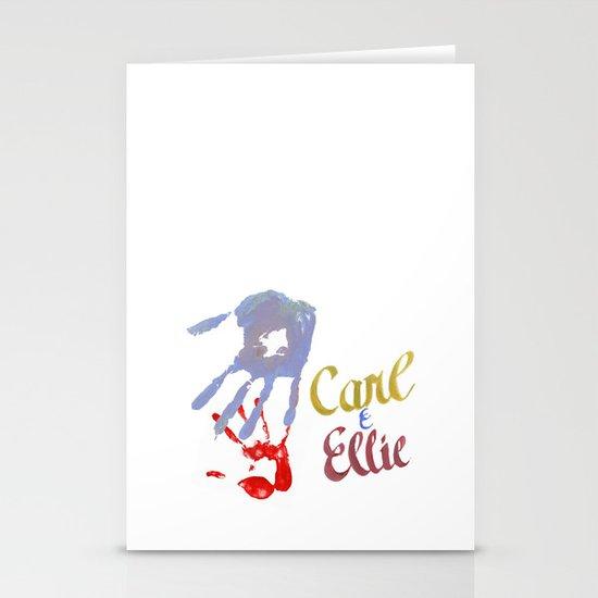 Carl & Ellie Stationery Card